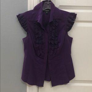 Purple Bebe blouse